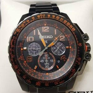 1 LEFT IN STOCK - New Seiko Chronograph men watch